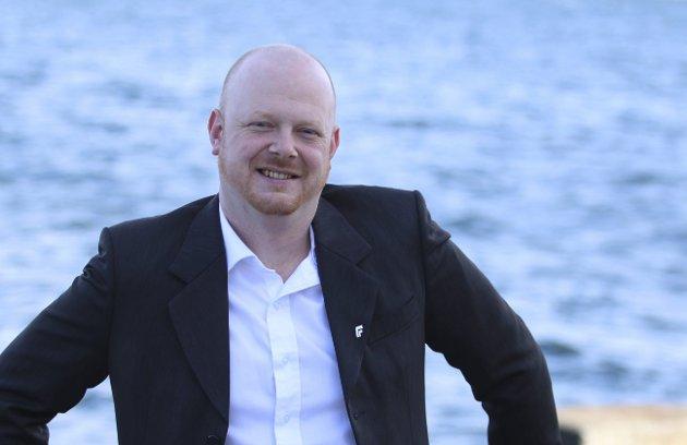 Espen Hansen Aspås i Røyken Frp.