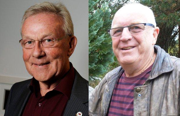 Steinar Gullvåg og Olaf Mathiassen