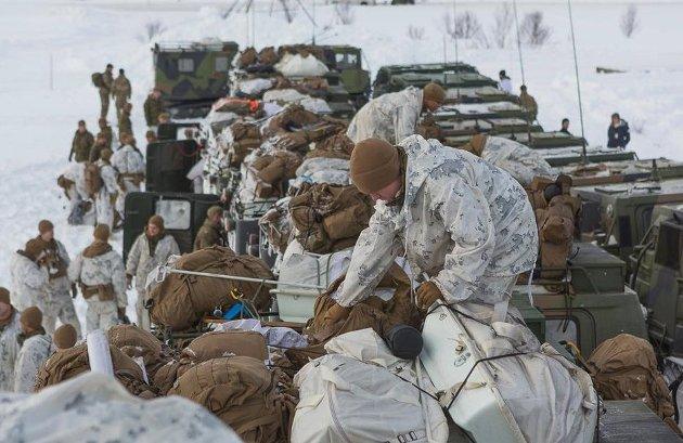 Allierte: Flyvninger seilaser og øvelser, som del av et større alliert samarbeid om forsvaret av NATO-landene, er et viktig bidrag til norsk og europeisk sikkerhet. Arkivfoto