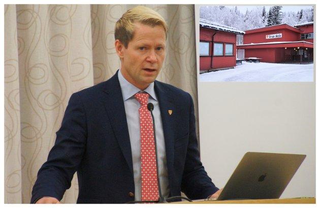 Ordfører Harald Tyrdal.