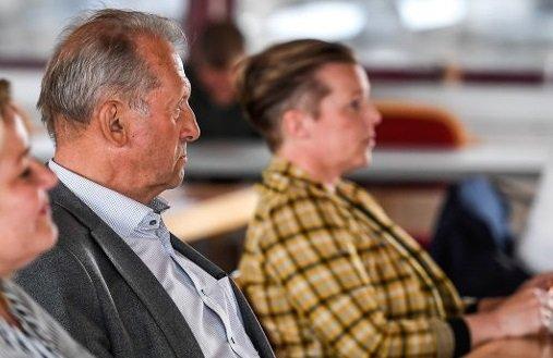 Johan Petter Røssvoll og Hilde Lillerødvann fra Rana senterparti.