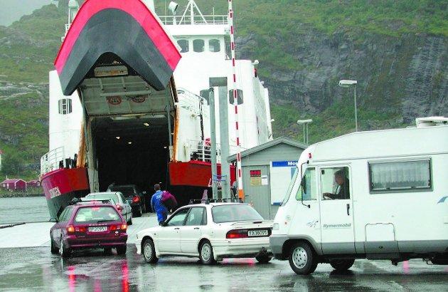 Urimelig: Vi har høyrøstet hevdet, og fått medhold i, at statens tilskudd til ferje og hurtigbåt er urimelig for Nordland.