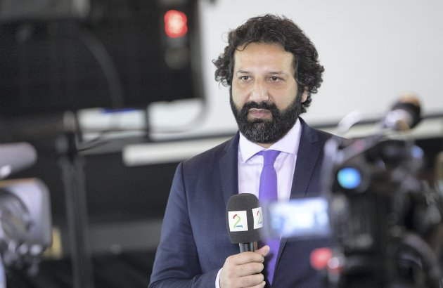 TV 2-reporter Kadafi Zaman ble fredag pågrepet og fengslet mens han dekket demonstrasjoner nord i Pakistan. Mandag morgen meldte TV 2 at Zaman løslates. Arkivfoto.