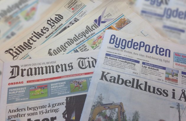 STERK VEKST: Amedia, som eier Bygdeposten og 61 andre lokalaviser i Norge, opplever sterk vekst i abonnementsmassen.
