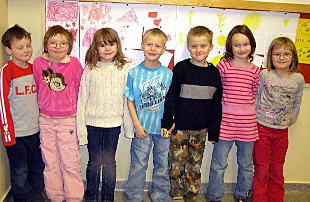 glade barn i Nordvågen
