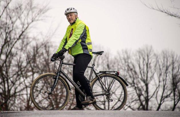 Jan Henrik Lund har lenge kjempet syklistenes sak. Han har tro på at Fredrikstad en gang om ikke lenge kan bli en virkelig sykkelby.