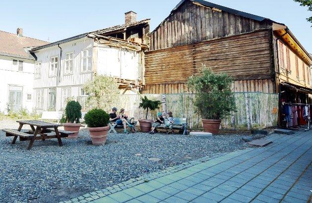 Arkitekt Svein Klausen er bekymret for hva som skjer med gamle Lillehammer.