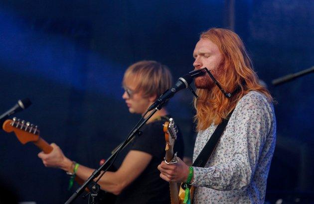 Aslak Rossehaug - Rossmann - på scenen fredag kveld.
