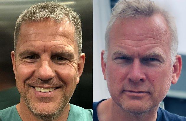 Stig Arild Stenersen fra Mo (t.v.) og Svein Are Osbakk.