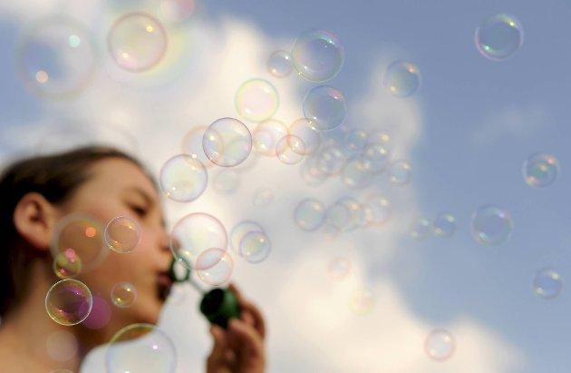 For Hildegunn fikk noe så «dagligdags» som såpebobler plutselig ny betydning. Illustrasjonsfoto: NTB / Scanpix