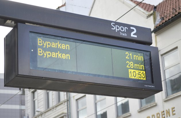– Det er ikke en gammel rutetabell som forteller deg når bussen burde komme, du får vite når den faktisk kommer. Hva om byens ledelse hadde sanntidsdata på alle politikkområder? skriver Filip Rygg.