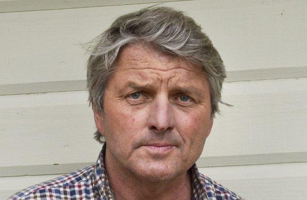 Knut Kvale er 1.-kandidat for Øvre Eiker Senterparti.