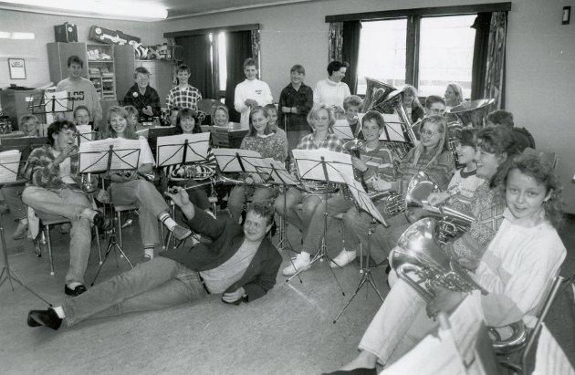 Florø skoles i juni 1993.