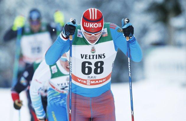 UTE AV OL: Aleksandr Legkov, tatt for doping.