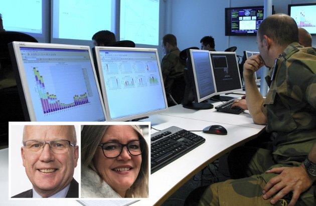 - Cyberforsvaret på Jørstadmoen og Senter for cyber- og informasjonssikkerhet (CCIS) på Gjøvik har nøkkelroller , skriver Kari-Anne Jønne og Hårek Elvenes.