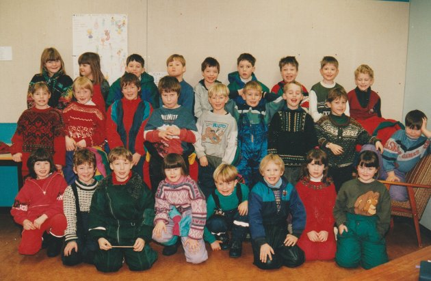 1. klasse på Buksnes skole i 1994/95.