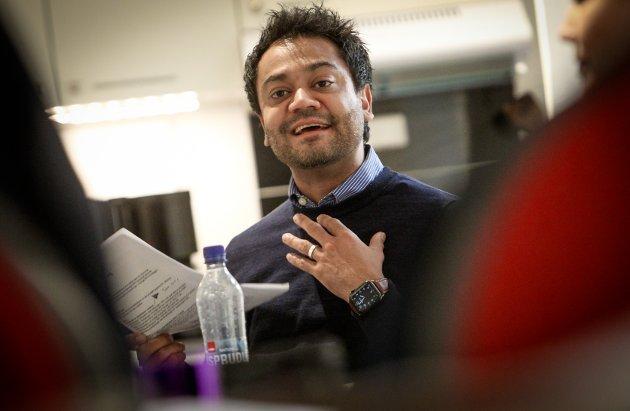 Shakeel Rehman, gruppeleder Moss Arbeiderparti