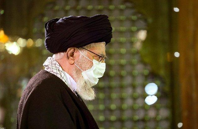 Ali Khamenei er Irans øverste leder, og får mye kritikk for håndteringen av koronapandemien i landet.