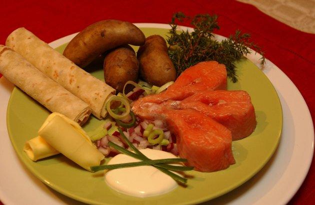 SKUMMELT: Kjendiskokken Gordon Ramsay har smakt på norsk rakfisk. Bare lukten skremte matlysten av Ramsay. Arkivbilde