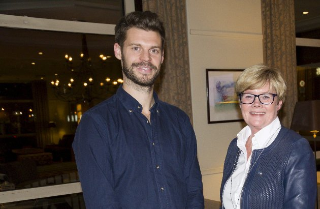 Viktig: Bjørnar Moxnes (Rødt) og Kristin Ørmen Johnsen (Høyre)  er enige om at det arbeidet og  den innsatsen som legges ned av frivillig  er positivt og viktig. Foto: Espen Ødegård