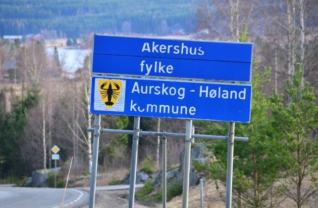 – Bør skjerpe seg: Aurskog-Høland kommune, med Rømskog innlemmet, bør se det som en sterkt prioritert oppgave å fortelle om kommunen med sitt rette navn, skriver innsenderen som også retter pekefingeren mot lokalavisene og brannvesenet. Foto: Øyvind Henningsen