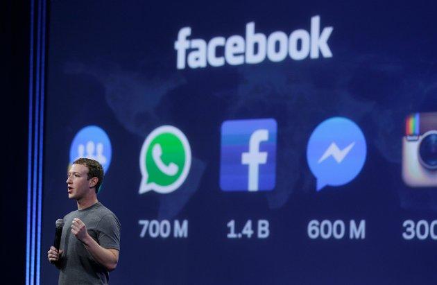 Livet er heilt klart betre utan Facebook, skriv Eivind Ødegård. Her er Facebook-sjef Mark Zuckerberg på utviklingskonferanse i 2015.