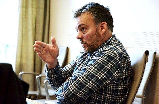 Sammenslåing: Bjarne E. Holø vil slå sammen kommuner, og trenger statens hjelp.