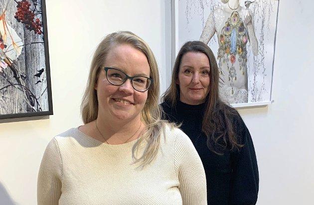 Iren og Lena er glad Senterpartiet vil tilrettelegge for økt boligbygging i distriktene.