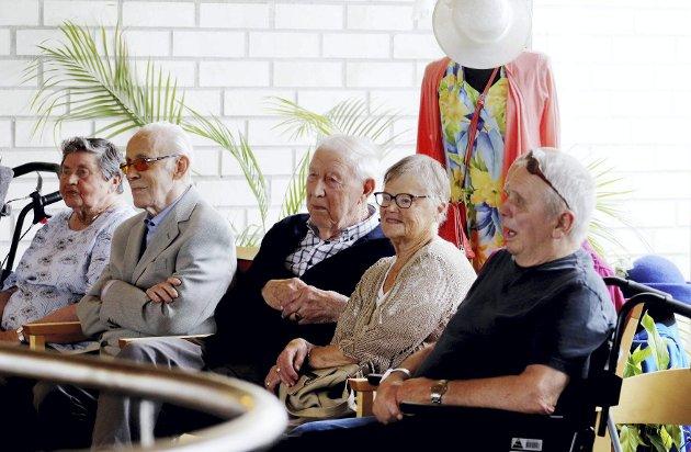 Alle med på festival: Norges eldste mann, Hjalmar Gregersen (108 år) var på Bacchus-konsert. Foto: Pål Nordby