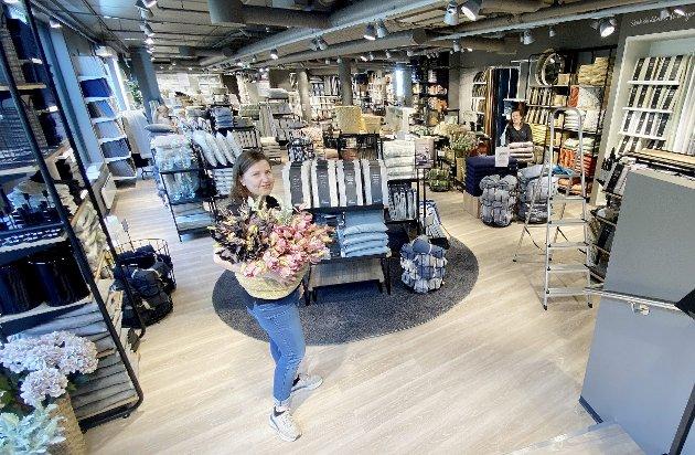 Åpner dørene: Kid Interiør åpner, selv om butikken ikke kan åpne for publikumsbesøk ennå. Foto: Pål Nordby
