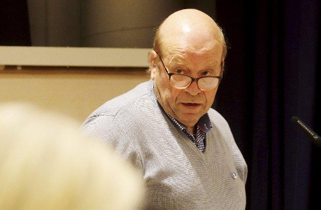 Gledelig: – Men likevel med et litt bekymringsfullt bakteppe, kommenterte Paul Gregersen (Sp) i mandagens kommunestyremøte. Foto: Pål Nordby