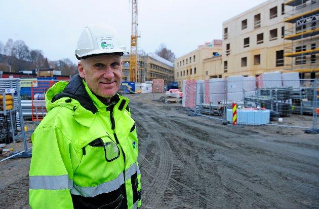 Brynjar Henriksen, produksjonssjef KKE.