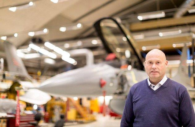 Glipper?Adm dir Ove Haukåssveen i AIM Norway.