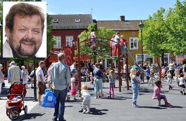 LIV OG RØRE: – Jeg håper at vi i framtiden i hvert fall kan kalle oss en levende kulturby, og at turister og tilreisende finner det interessant å stoppe her. Og ikke minst bosette seg, sier Jens E. Fjeld i dette innlegget.