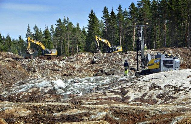 2016: Neste år vil E18 gjennom Indre Østfold være ferdig utbygd.