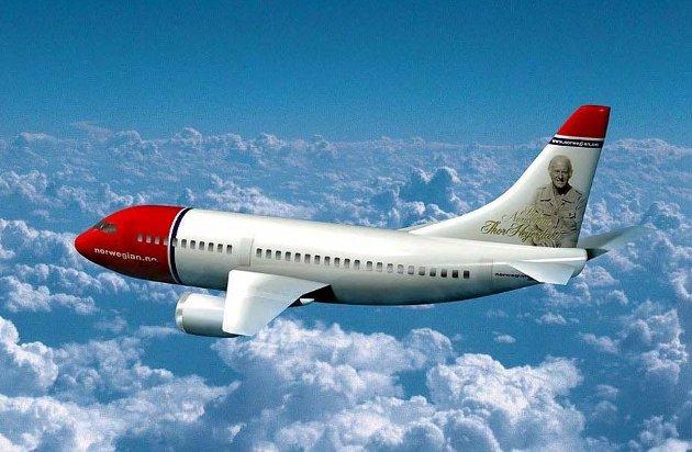ØKNING: Flytrafikken øker selv etter innføringen av flyavgiften. arkivfoto