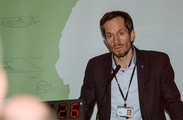 ORDFØRER: Eivind Hoff-Elimari.