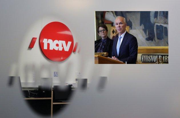 LITE: Innsatsen finansminister Jan Tore Sanner foreslår for å holde folk i arbeid, må økes.
