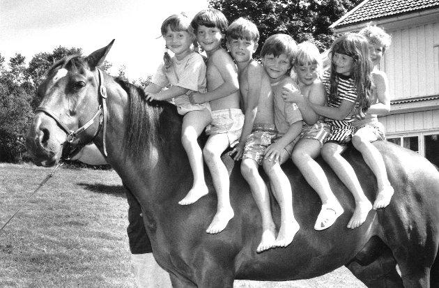 Solheim barnehage 8. juli 1991