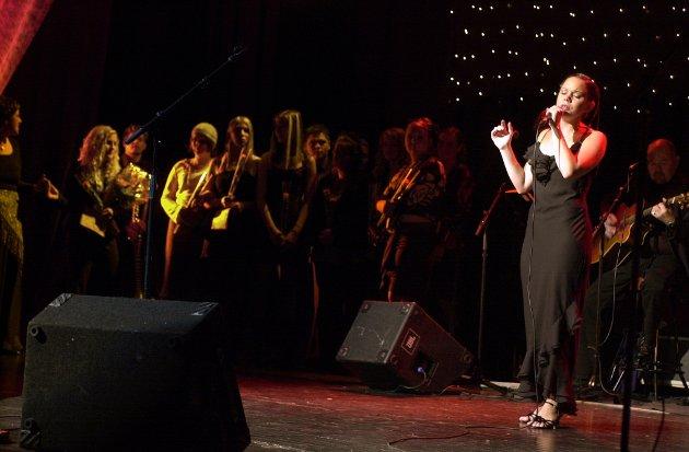 Anne Margrete Bergstø Lemicka gjekk til topps med songen «I will always love you».