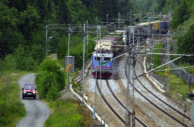 BEHOV FOR AVKLARINGER: Artikkelforfatter stiller en rekke spørsmål med hensyn til jernbaneplanene for Moss. Foto: Terje Holm