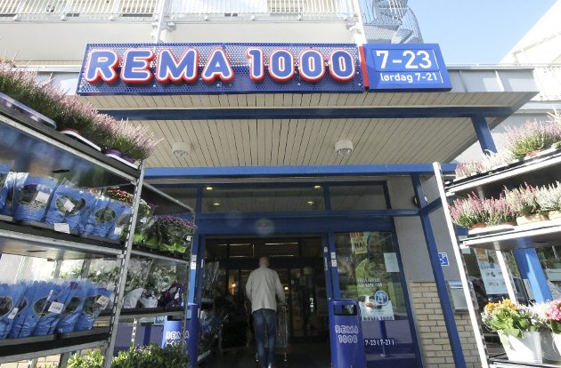 Stengt: Rema 1000 åpner igjen klokka fire i dag, etter to og en halv dag med ombygging. arkivfoto: Steinar Knudsen
