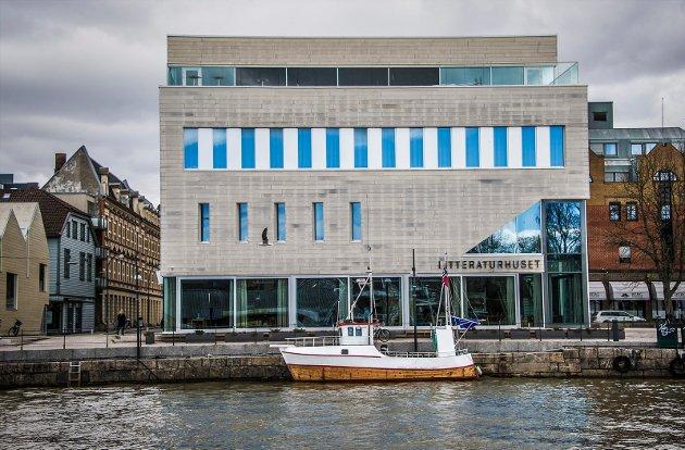 Litteraturhuset markerer i dag at det er fem år siden de åpnet. Siden januar 2013 har totalt 147.600 publikummere vært innom et åpent arrangement.