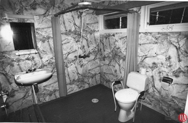 Oscar Torp-heimen hadde hele 60 pasienter på besøk. Det var Multipell Sklerose-foreningen i Halden som arrangerte turen. Pasientene kom fra Os Pleiehjem, Katolske Sykehus, Karrestad Aldershjem og Halden Sykehus. 24 var personer i rullestol. Høy standard i alle rom, men badet imponerte mest. Publisert: 4. juli 1981
