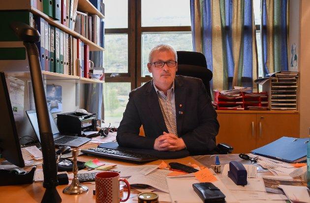 – Valget i år er spesielt fordi det dannes en ny kommune gjennom sammenslåingen av Hammerfest og Kvalsund, skriver Terje Wikstrøm.