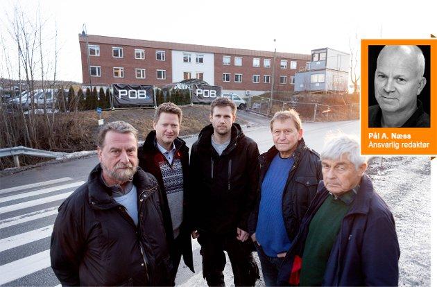 Naboer protester mot at Lier kommune ønsker å huse rusmisbrukere i en bolig ved Frogner Sykehjem som de i utgangspunktet har sagt at det skal være unge fysisk utviklingshemmede.