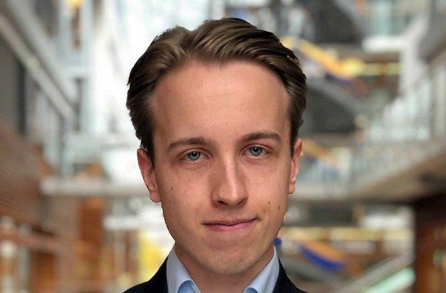 Andreas Bøe (bildet), student ved BI Norwegian Business School, gir her et svar på Rødt-politiker Jan Petter Bastøes innlegg i SA 20. januar, der han mener at kapitalismen ødelegger jorda og skaper fattigdom. (Foto: Privat)