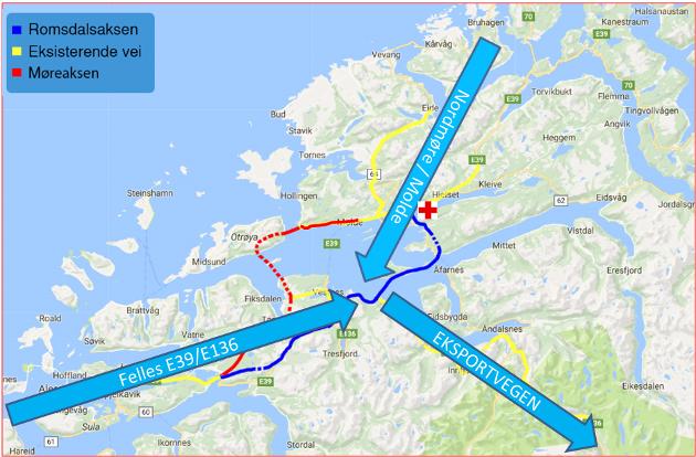 Har fylkeskommunen råd til å sjå bort ifrå det best tenkelege fergefrie sambandet både langs E39 og E6, bygd og betalt av Staten, spør Lars Valderhaug.