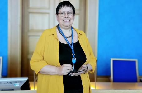 Ordfører i Trondheim, Rita Ottervik (Ap)