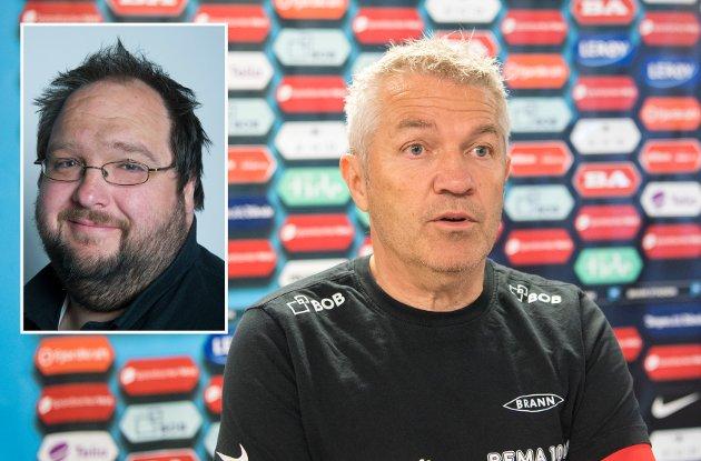 BAs Tormod Bergersen tror ikke nødvendigvis at en sparking av Kåre Ingebrigtsen vil løse rødtrøyenes problemer.